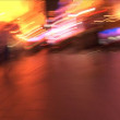 Stock Video: Nanjing Road, Slow Motion