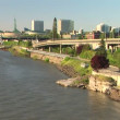 Stock Video: Portland Riverfront