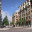 Stock Video: Portland city scene