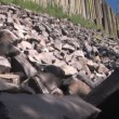 Top View of Devils Postpile — Stock Video