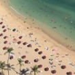 waikiki beach — Stock Video