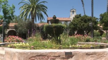 California Mission — Stock Video