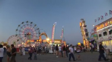 Carnival, time lapse — Stock Video