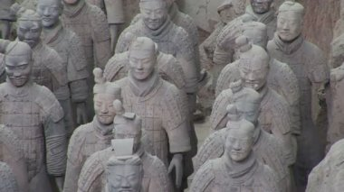 Terra Cotta Warriors — Stockvideo