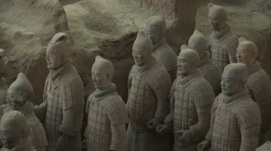 Terra Cotta Warriors — Vídeo Stock