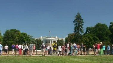 White House, time lapse — Stock Video