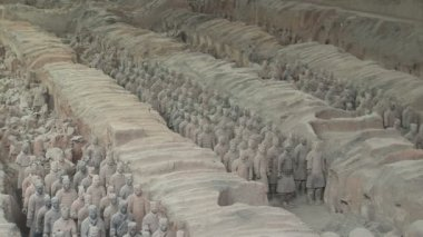 Terra Cotta Warriors — Stok video