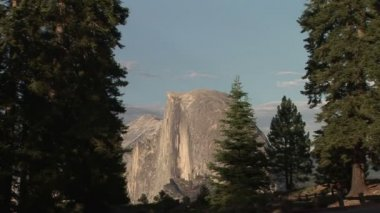 Half Dome from Glacier Point — Stock Video