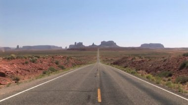 Road to Monument Valley — Stock Video