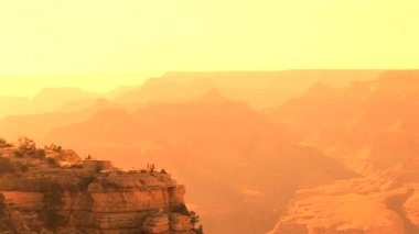 Grand Canyon Sunset — Stock Video