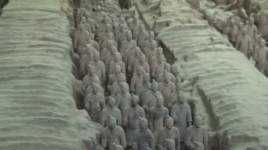 Terra Cotta Warriors — Stock Video