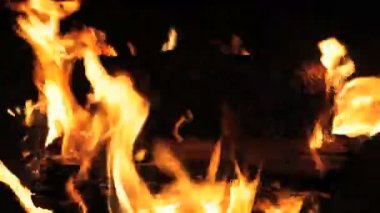 Fire Pit — Stock Video