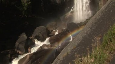 Vernal Falls, Yosemite National Park — Stock Video