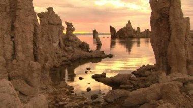 Sunrise at Mono Lake — Stock Video