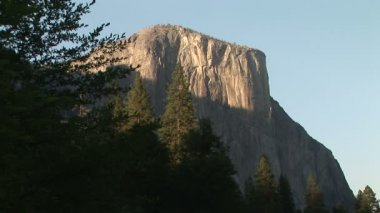 El Capitan, Yosemite National Park — Stock Video