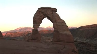 Arches National Park, — Stockvideo