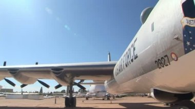 TUCSON, AZ NOVEMBER 25: Convair B-36J Peacemaker Strategic Bomber — Stok video