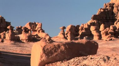 Goblin Valley — Stock Video
