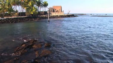 Hawaiian Place of Refuge — Stock Video
