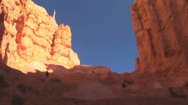 Navajo Trail in Bryce Canyon National Park — Stock Video