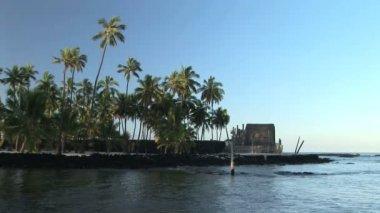 Hawaiian Place of Refuge — Stock Video