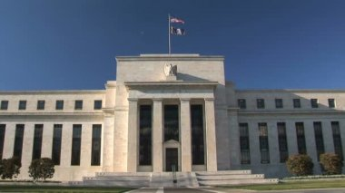 Federal Reserve Bank Washington DC — Stock Video