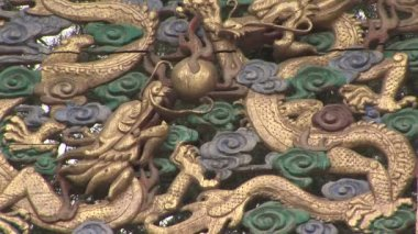 Dragon Architectural Detail — Stock Video #34326845
