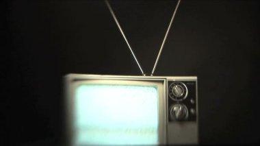 Static TV — Stock Video
