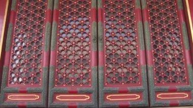 Ornate Chinese Doors — Stock Video