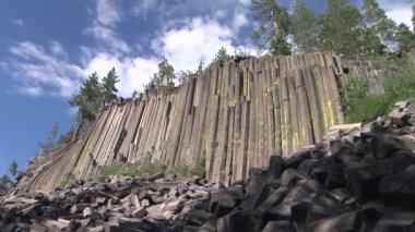 Devils Postpile National Monument — Stock Video