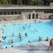 Radium Hot Springs Pool — Stockvideo