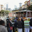 Cable Car Turn Around — Stok video