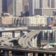 Stock Video: San Francisco Freeway