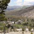 Town of Mammoth Hot Springs — Stock Video