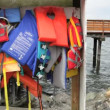 Life vests — Stock Video