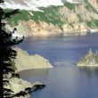 Phantom Ship, Crater Lake — Stock Video