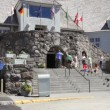 Timberline Lodge Entrance — Stock Video #34413827