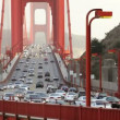 Golden Gate Bridge Traffic — Stock Video