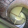 Cape Blanco Lighthouse Stairwell — Stockvideo