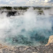Stock Video: Yellowstone Geyser