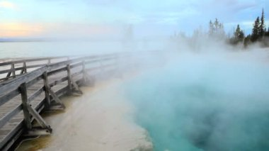 Midway Geyser Basin — Stock Video