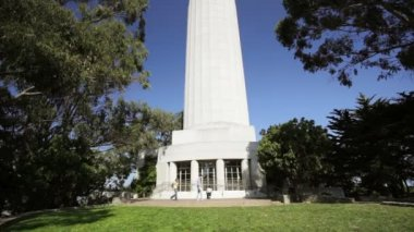 Coit Tower — Stock Video