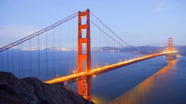 Golden Gate Bridge, time lapse — Vidéo