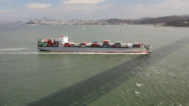 Cargo Ship — Stock Video