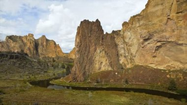 Smith Rock Time Lapse — Stock Video