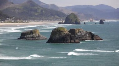 Cannon Beach — Stock Video