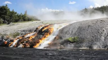 Firehole River — Stock Video