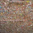 Gum Wall in Seattle — Stock Photo #34630947
