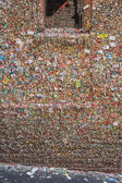 Gum Wall in Seattle — 图库照片