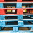 Stock Photo: Shipping Pallets